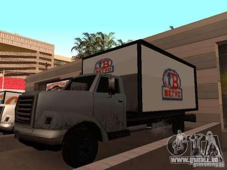 Yankee RUS für GTA San Andreas rechten Ansicht