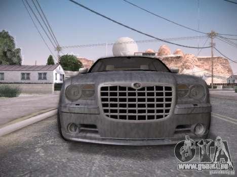 Chrysler 300C SRT8 pour GTA San Andreas salon