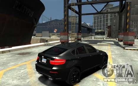 BMW X6 M pour GTA 4 est un droit