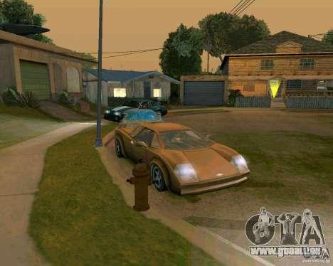 Infernus from Vice City pour GTA San Andreas laissé vue