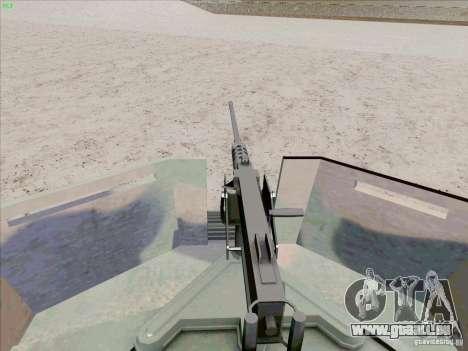 Hummer H1 pour GTA San Andreas vue de dessus