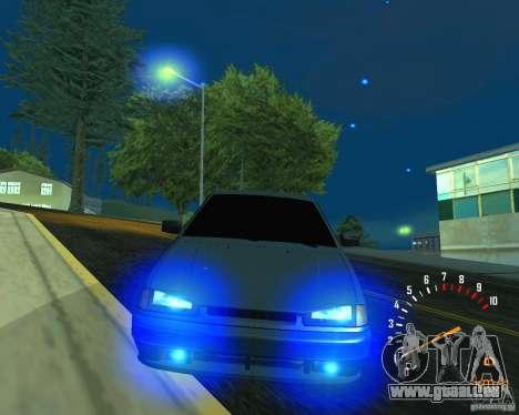 VAZ 2113 Ferarri für GTA San Andreas Unteransicht