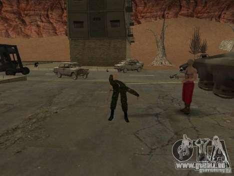 Soldats de l'armée russe pour GTA San Andreas quatrième écran