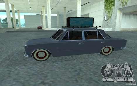 Vaz-2101 Style rétro pour GTA San Andreas laissé vue