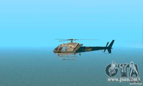 AS350 Ecureuil pour GTA San Andreas laissé vue