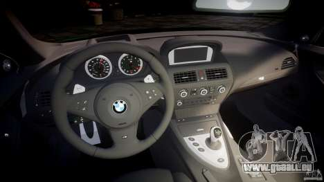 BMW M6 2010 v1.0 für GTA 4 Rückansicht