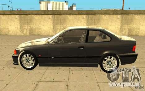 BMW E36 M3 - Stock pour GTA San Andreas laissé vue