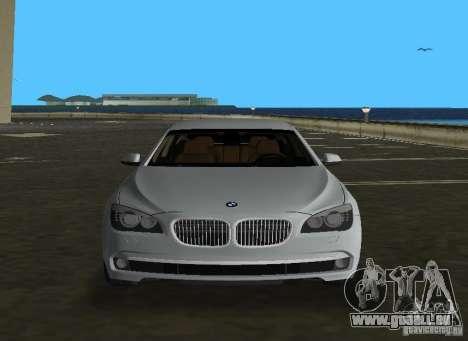 BMW 750 Li für GTA Vice City Seitenansicht