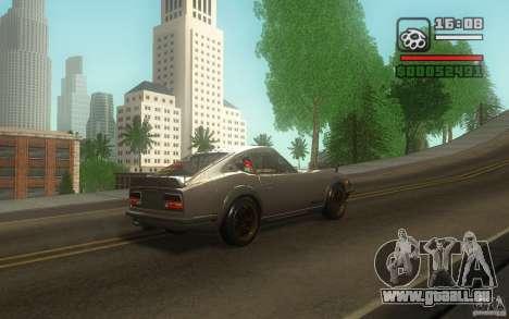 Datsun 240ZG pour GTA San Andreas vue intérieure