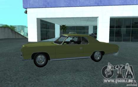 Chevrolet Impala 1971 pour GTA San Andreas vue de droite