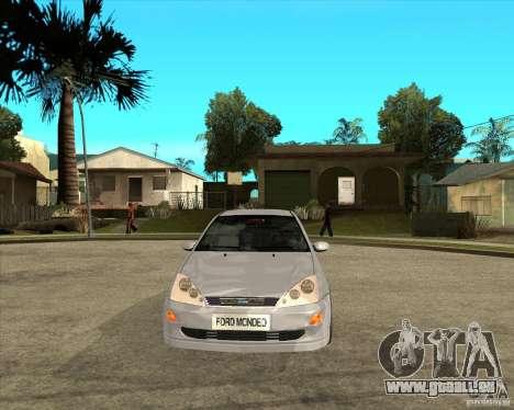 Ford Focus Sedan pour GTA San Andreas vue arrière