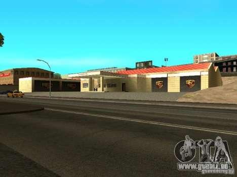 Garage Porsche pour GTA San Andreas