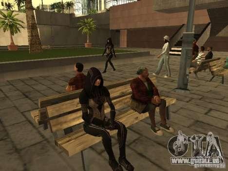 Girls from ME 3 für GTA San Andreas fünften Screenshot