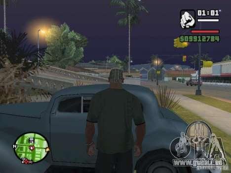 Crochetage pour machines comme dans Mafia 2 pour GTA San Andreas deuxième écran