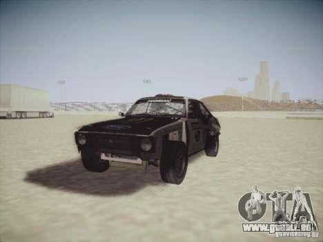 Ford Escort MK2 Gymkhana pour GTA San Andreas