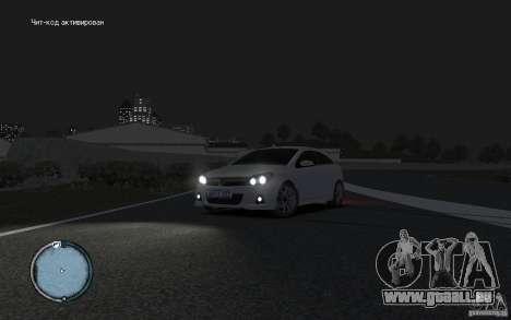 Opel Astra pour GTA 4 Vue arrière de la gauche