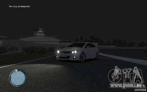 Opel Astra für GTA 4 hinten links Ansicht
