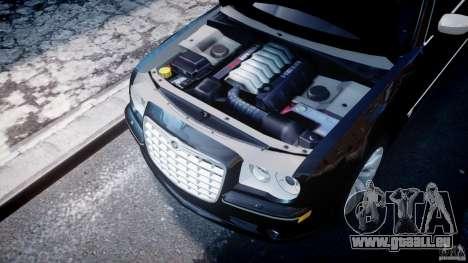 Chrysler 300C SRT8 Tuning pour GTA 4 Vue arrière