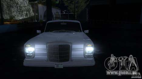 Mercedes-Benz 300SE US pour GTA San Andreas laissé vue