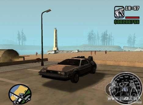 Crysis Delorean BTTF1 pour GTA San Andreas