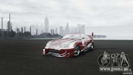 Toyota Supra Apexi Race System für GTA 4