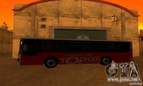 Daewoo Bus BC211MA pour GTA San Andreas laissé vue