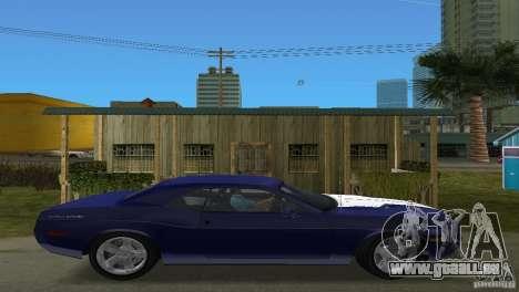 Dodge Challenger für GTA Vice City rechten Ansicht