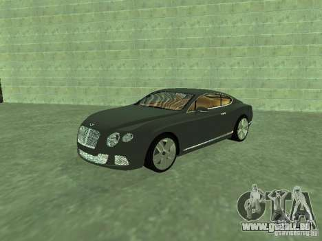 Bentley Continental GT 2010 V1.0 pour GTA San Andreas