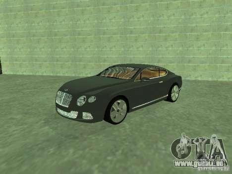 Bentley Continental GT 2010 V1.0 für GTA San Andreas