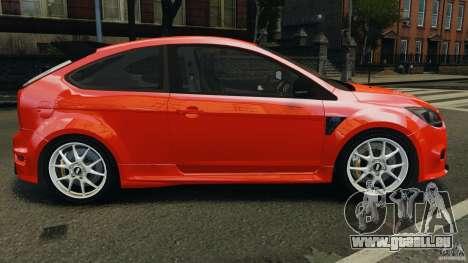 Ford Focus RS pour GTA 4 est une gauche