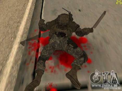 Combattre les soldats de CoD : Mw2 pour GTA San Andreas cinquième écran