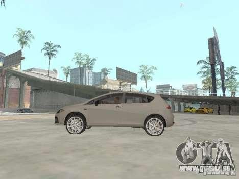 Seat Leon Cupra für GTA San Andreas linke Ansicht