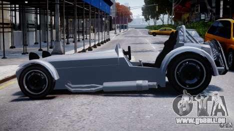 Caterham Super Seven pour GTA 4 est une gauche