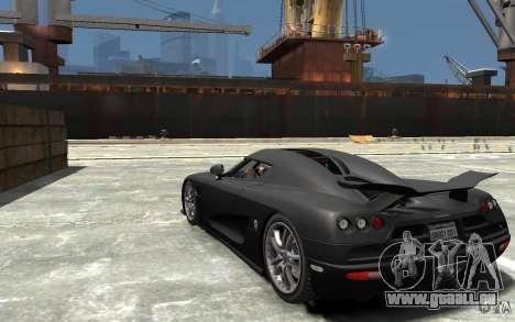 Koenigsegg CCXR Edition V1.0 für GTA 4 hinten links Ansicht