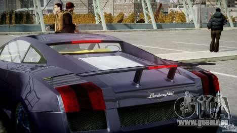 Lamborghini Gallardo Superleggera pour GTA 4 roues