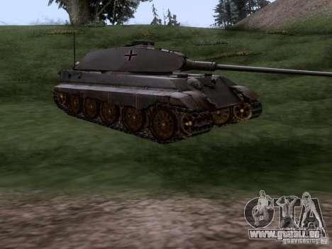 PZ VII Tiger II Royal Tiger VIB für GTA San Andreas rechten Ansicht