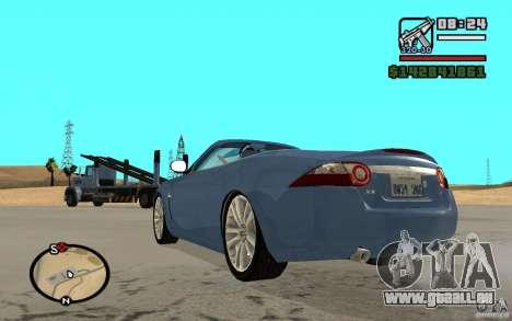 Jaguar XK Convertable pour GTA San Andreas laissé vue