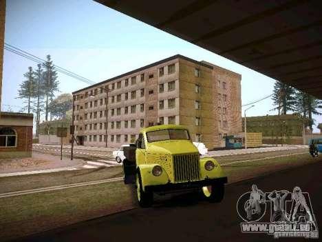 GAZ 51 Assinizator pour GTA San Andreas vue arrière