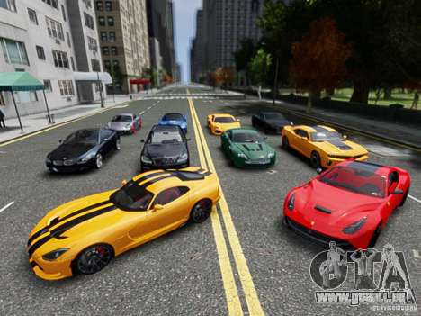 Real Car Pack 2013 Final Version für GTA 4