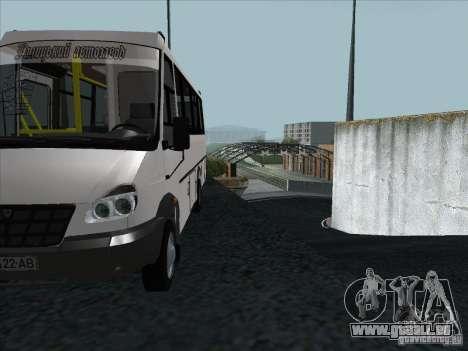 Golaz 3207 pour GTA San Andreas vue de côté