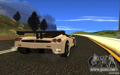 Ferrari Enzo ImVehFt pour GTA San Andreas vue de droite