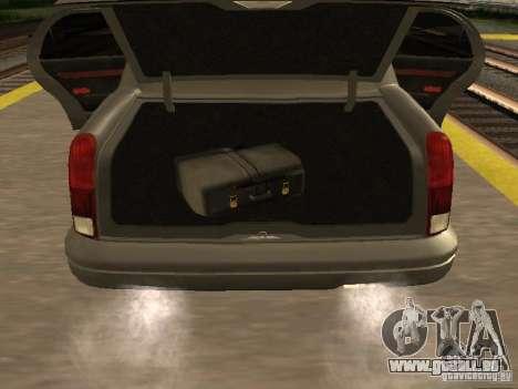 HD Stretch pour GTA San Andreas vue arrière