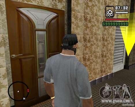 Remplacement de l'ensemble CJeâ de maison pour GTA San Andreas quatrième écran