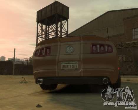 2011 Shelby GT500 Super Snake pour GTA 4 est un droit