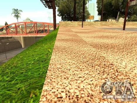 Le nouveau terrain de basket à Los Santos pour GTA San Andreas deuxième écran