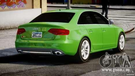 Audi S4 2010 v1.0 für GTA 4 Seitenansicht