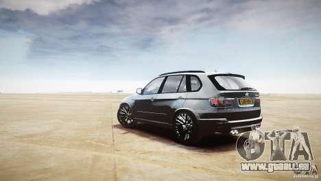 BMW X5M 2011 pour GTA 4 est un droit