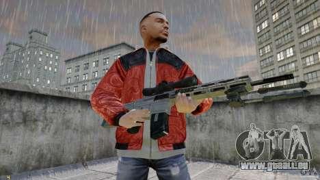 RSASS de MW3 (sniper) pour GTA 4 secondes d'écran