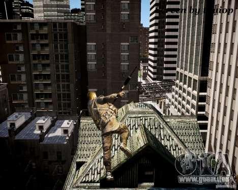 Modern Warfare 3 Soap Europe pour GTA 4 quatrième écran