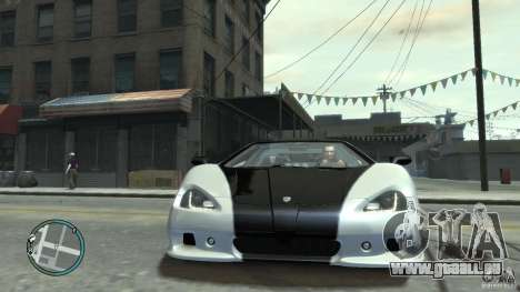 Shelby Super Cars Ultimate Aero für GTA 4 hinten links Ansicht